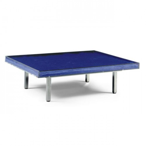 Klein table bleue a